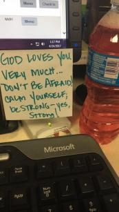 A little motivation at my desk